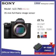 SONY WITH 35MM FULL -FRAME IMAGE SENSOR ILCE-7M3(Body Only) (Gift >>> NP-FZ100)
