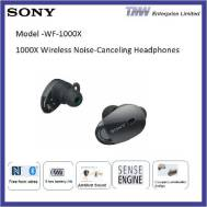 SONY WF-1000X Wireless Noise-Canceling Headphones