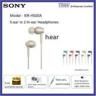 SONY Headphone IER-H500
