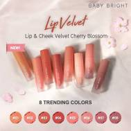 Baby Bright Lip & Cheek Velvet Cherry Blossom