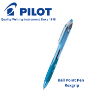 Ball Point Pen Rexgrip (Sliver)