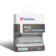 Verbatim 3 in 1 Type C (5 port  Hub ) (Product Code-65044)