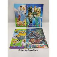 Colouring Book (3pcs) (6942576615223)