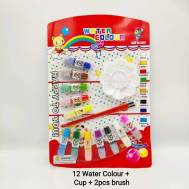 12 Water Color Tube With Cup (6983252311688)