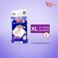 Super Kiddy Baby Diaper Pant ( XL-8Pcs ) ( 12-17kg )