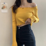 AK Longsleeve off shoulder - Free Size (max 130)