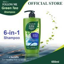 Follow Me Green Tea Shampoo(6in1)(6Benifit) 650ml