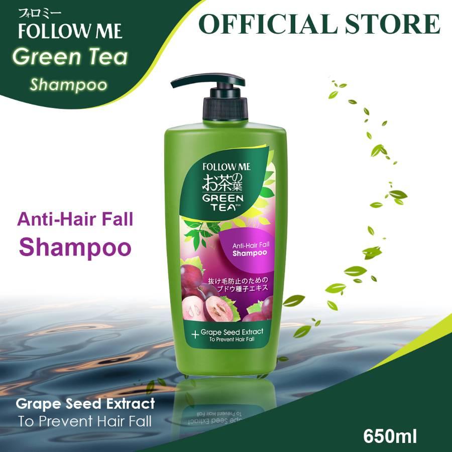 Follow Me Green Tea Shampoo(Anti-Hair Fall) 650ml