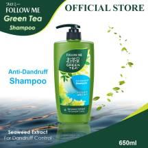 Follow Me Green Tea Shampoo(Anti-Dandruff) 650ml