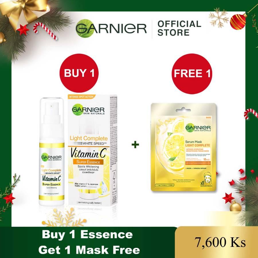Garnier Buy 1 Light Complete Essence Get 1 Light Complete Mask Free